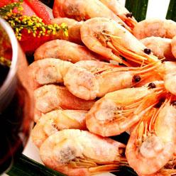 北水 加拿大北极甜虾 500g