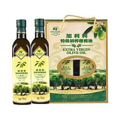 加利利特级初榨橄榄油礼盒 500ML*2/盒