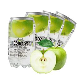 运得牌青苹果味含气饮料350ml