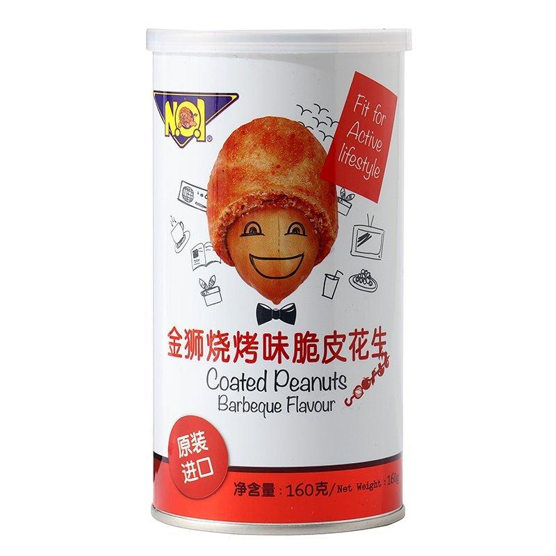 金狮烧烤味脆皮花生160g