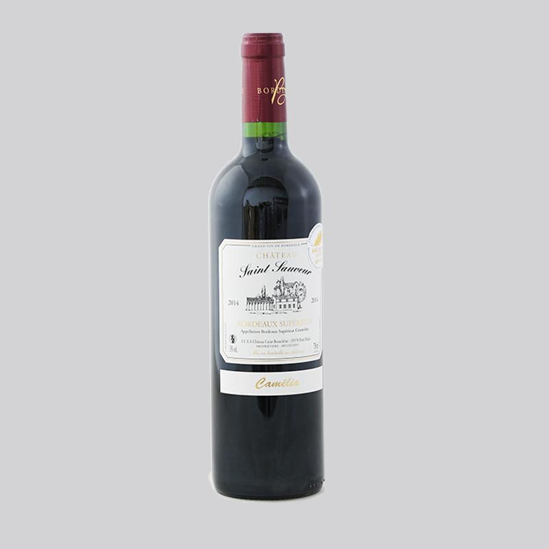 圣梭夫城堡干红葡萄酒750ml