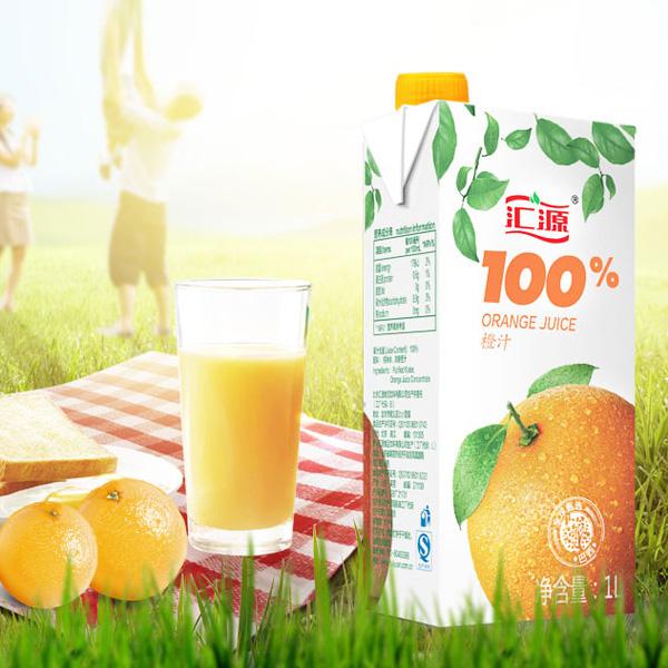 汇源 果汁 100%橙汁 1L