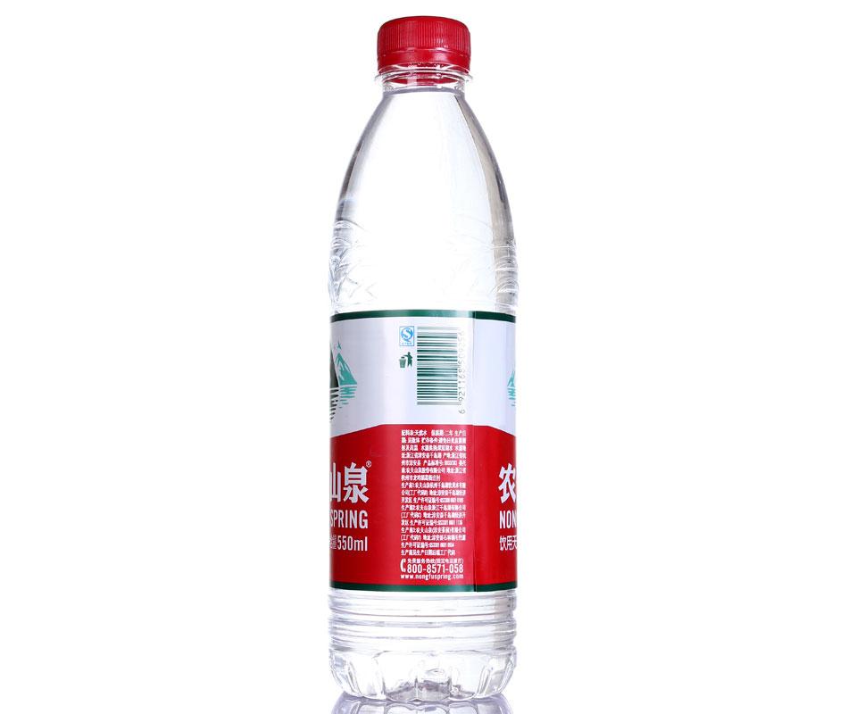 农夫山泉饮用天然水550ml*24瓶图片